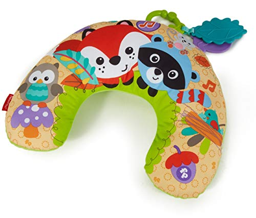 Fisher-Price - Almohadilla de media luna bosque