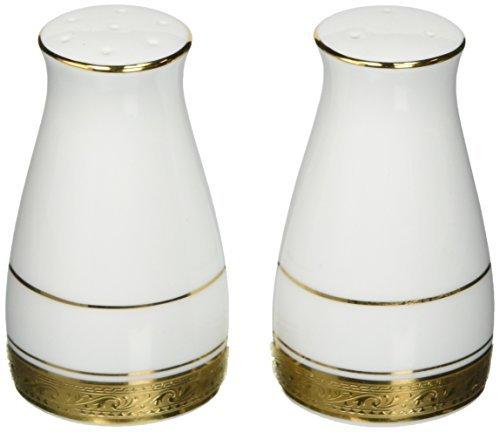 Noritake Crestwood Gold Salt & Pepper Shakers by Noritake Gold Salt Shaker