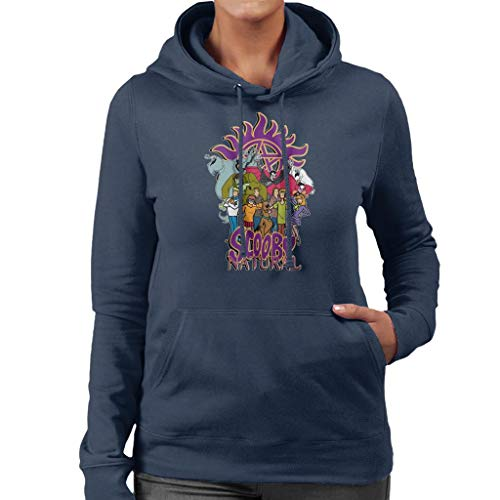 Cloud City 7 Scooby Natural Supernatural Women's Hooded Sweatshirt