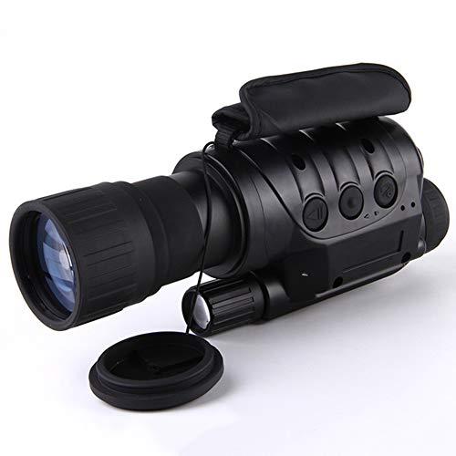 AUNLPB Nachtsichtgerät, 6X50 Nachtsicht-Infrarot-IR-Kamera HD Digital Night Vision Scopes mit Foto- und Videowiedergabefunktion (Night Vision Digital)