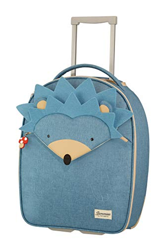 Samsonite Happy Sammies Upright Valigia per Bambini, 45 cm, 23 Liter, Blu (Hedgehog Harris)
