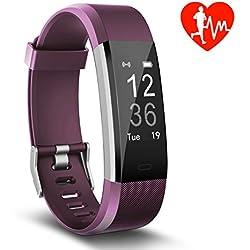 Pulsera de Actividad, Monitor de Frecuencia Cardíaca & IP67