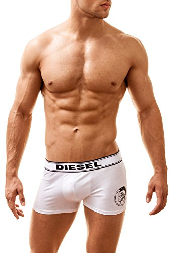 Diesel Boxershorts, Siena, Weiss, Medium