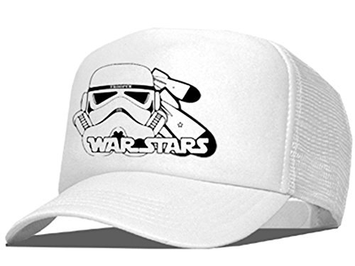 Bastart Caps Raphia type Trooper AS Casquette en maille, A Stars/White