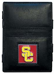 NCAA USC Trojans Leather Jacob's Ladder Wallet