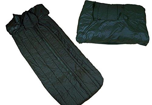 Belgischer Armee Schlafsack oliv gebraucht 200 cm Armeeschlafsack