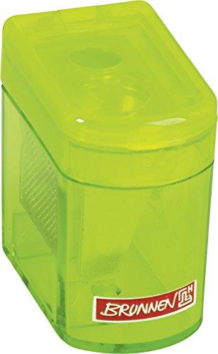 Brunnen 102983852 Dosenspitzer Klicki Colour Code (4 x 2,5 x 3,7 cm, mit Staubverschluss,...