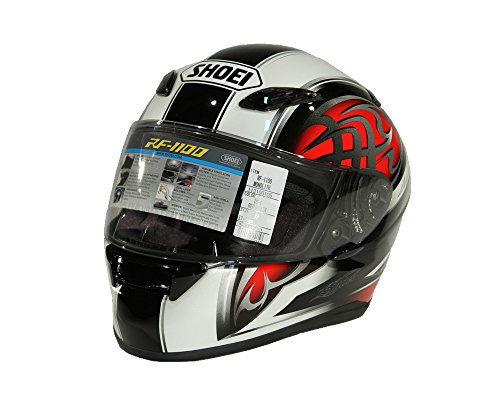 Shoei XR-1100 MONOLITH TC-1 Integralhelm schwarz rot (XL)