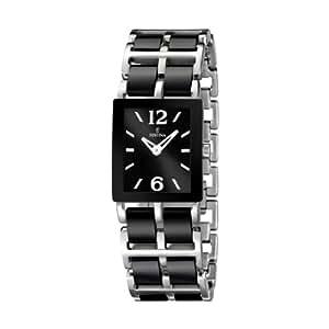 Festina Damen-Armbanduhr Ceramic Analog Quarz Edelstahl F16625/3