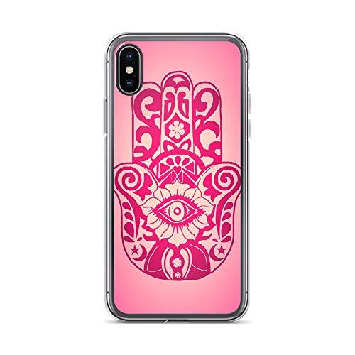 blitzversand Handyhülle FRÜCHTE 2 Fruits kompatibel für Samsung Galaxy J6 2018 Mandala Indien Schutz Hülle Case Bumper transparent M7 - 826 Kirsche