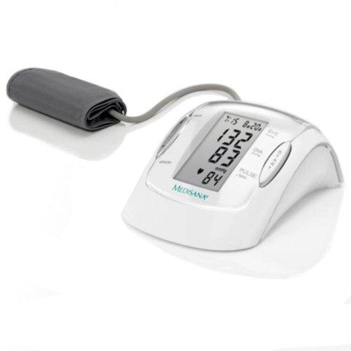 Medisana MTP Oberarm-Blutdruckmessgerät mit Arrhythmie-Anzeige - für eine präzise Blutdruckmessung und Pulsmessung mit Speicherfunktion - Jubiläumsedition -51047