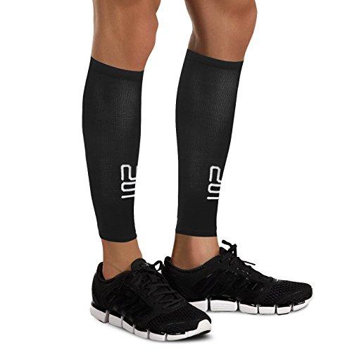 Waden Beine Kompressionsstrümpfe von Modetro Sports - Schienbeinkantensyndrom, Kreislauf und Bein Krampf Kompression Unterstützung - Laufen, Joggen, Radfahren, Fitness & Training Leistungsverbesserung - Herren & Damen