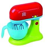 Playgo Mixer Handmixer Standmixer mit Rührschüssel reale Funktionen rot