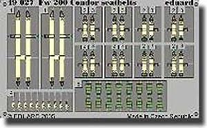 Eduard Accessories 4902730502000FW 200Condor Seat V6D310Z para Trumpeter Montar