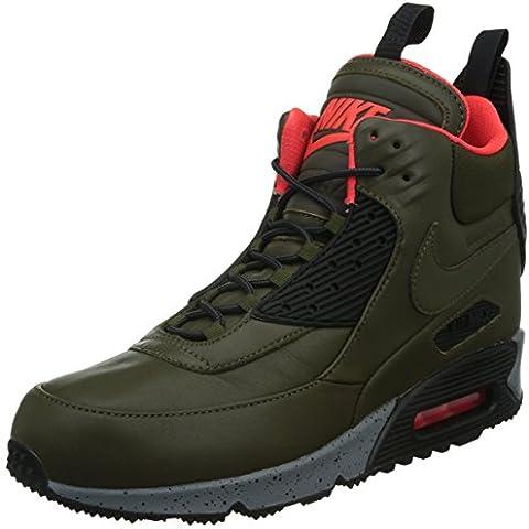 Nike Air Max 90 Sneakerboot Wntr, Zapatillas de Running para Hombre, Bamboo, 44.5 EU