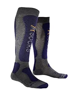X-Socks Ski Comfort Functional Socks Man, Men, Funktionssocken Ski Comfort Man, Grey/Blue