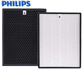 Philips AC1215 Nano Protect HEPA Filter+ ACTIVATED Carbon Filter Set