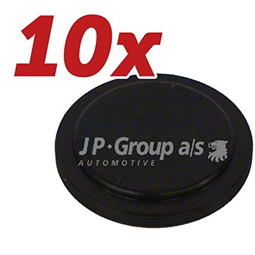 10x JP Group Flanschdeckel, Schaltgetriebe