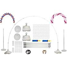 Langxun Kit de arco de gran tamaño para bodas, cumpleaños, artículos de fiesta,