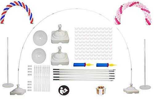 Langxun Große Größe Ballon Arch Kit für Hochzeit, Geburtstag, Partybedarf, Weihnachten und Neujahr Dekorationen - ideal für Indoor und Outdoor Garten Dekoration