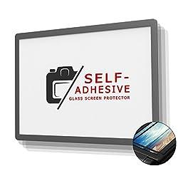 DolDer LCD Displayschutz Glas für Nikon D850 - LCD-Echtglas-Protektor für Nikon D850-6 Schicht-Prinzip Plus Schutzrahmen (Made by Larmor) EINWEG