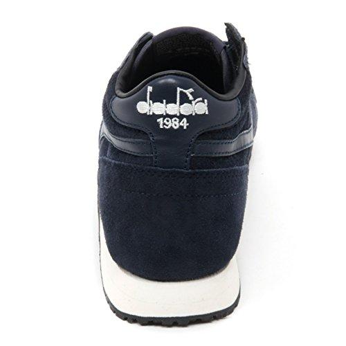 B7522 sneaker donna DIADORA HERITAGE TRIDENT scarpa blu shoe woman Blu