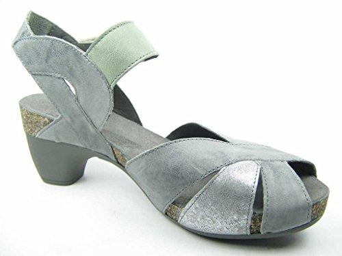 Traudi De Tiras Cinza Sandalette Que Sandálias As Mulheres Acho qxAwX0vw