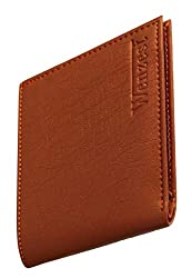 wenzest Tan Mens Wallet with Upto 10 Card Pockets