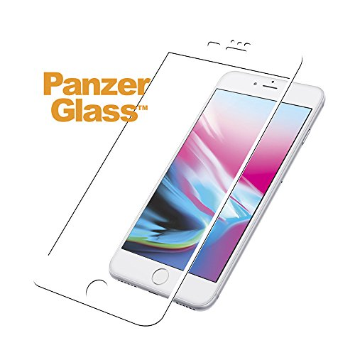 Image of PanzerGlass iPhone 6/6s/7/8 Plus White Displayschutz