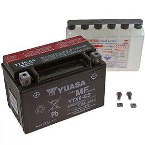 Yuasa AGM Batterie GSX 750 F 1998-2006 YTX9-BS