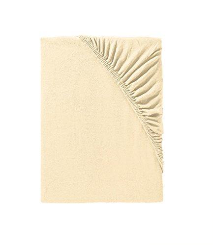 Träumschön Bettlaken 180×200 bis Spannbettlaken 200×200 cm Matratzen Größe flexibel variierbar · Mako-Jersey Spannbettlaken · Ideal zu Bettwäsche