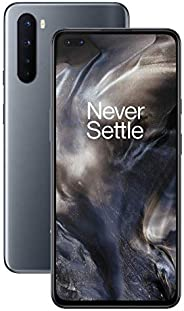 "OnePlus NORD Smartphone 6.44"", 5G, Fluid AMOLED Display 90Hz, 12GB RAM + 256GB Storage, Quad Camera, Warp Char"