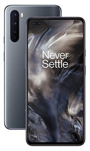Oferta de Teléfono OnePlus NORD (5G) 12GB RAM 256GB, Cámara Cuádruple, Dual SIM. Ahora con Alexa - 2 Años de Garantía - Gris Onix
