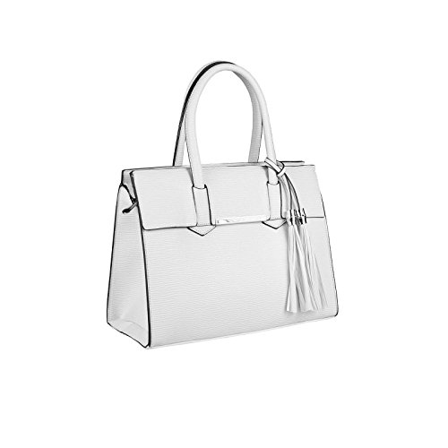 OBC Only-Beautiful-Couture, Borsa a mano donna bianco bianco ca.: 35x26x15 cm (BxHxT) bianco