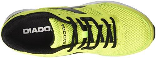 Diadora Unisex-Erwachsene Shape 7 Laufschuhe Gelb (Giallo Fluo/nero)