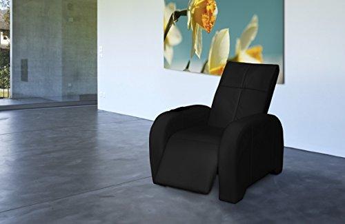 Massagesessel | Massagestuhl Leder schwarz Keyton Omega - exklusiv für Welcon hergestellt - Top Angebot von welcon.de