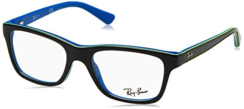 Ray-ban occhiali da sole 0ry1536 top dark grey on blue, 48