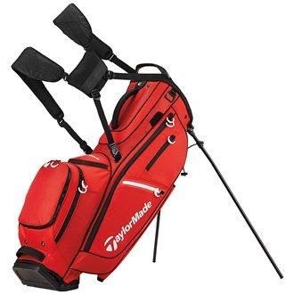 TaylorMade Golf 2017flextech-fasce Crossover stand bag uomo borsa da trasporto mazze da golf, con  scomparti, Red