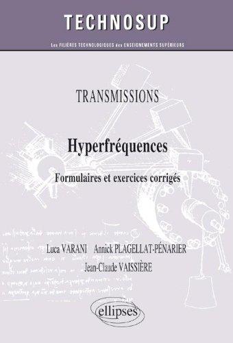 Hyperfréquences Formulaires & Exercices Corrigés Niveau C