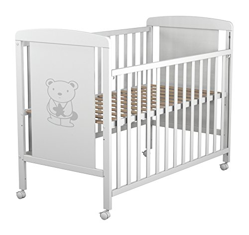 Star Ibaby Dreams Sweet - Cuna de bebé 8 posiciones. Lateral abatible
