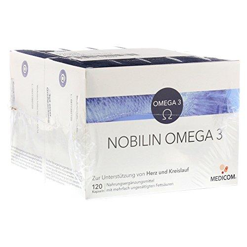 NOBILIN Omega 3 Kapseln 2X120 St
