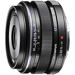 Olympus 17mm F1.8Objectif Interchangeable pour Appareil Photo Olympus/Panasonic Micro