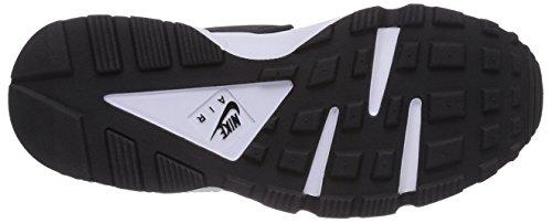 Nike Air Huarache, Chaussures de Running Femme Noir (Black-white)