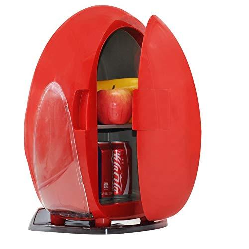 YUNJIE Mini Refrigerador Refrigerador Y Calentador