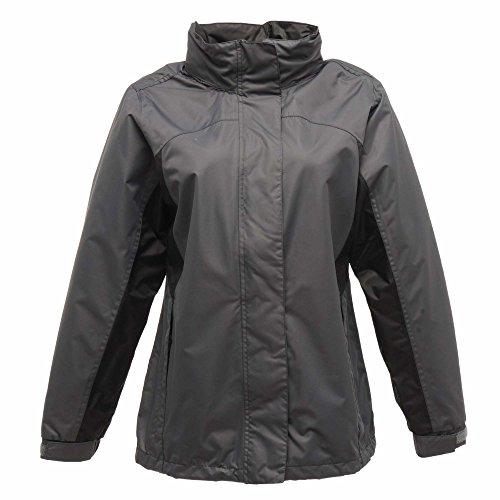 Regatta Damen Ashford Breathable Jacke, Schwarz Marineblau