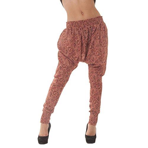 Miss Wear Line -  Pantaloni  - Donna rosa (Pantaloni Misses Lino)