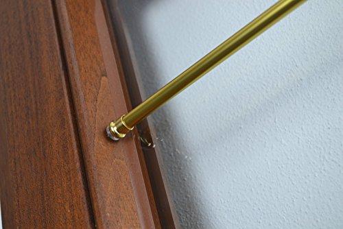 Bastoni Per Tende Con Ventose.Bastone Per Tenda In Alluminio Con Molla E Ventosa Oro Modello