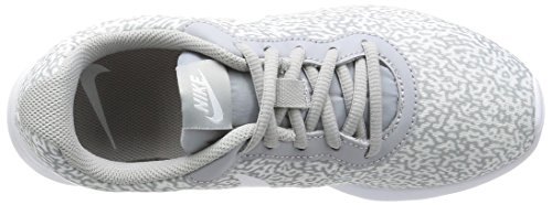 Nike Wmns Tanjun Print, Scarpe da Corsa Bambina Gris (Gris (wolf grey/wolf grey-white))