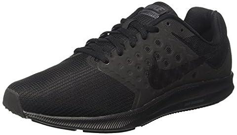 Nike Herren Downshifter 7 Laufschuhe, Schwarz (Black/Metallic Hematite/Anthracite), 46 EU