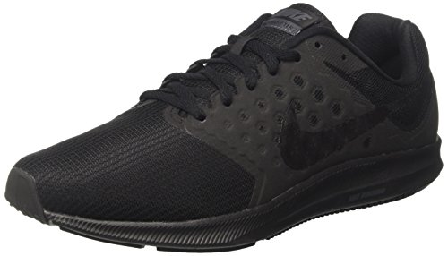 Nike Downshifter 7, Scarpe Running Uomo Nero (Black / Metallic Hematite / Anthracite)
